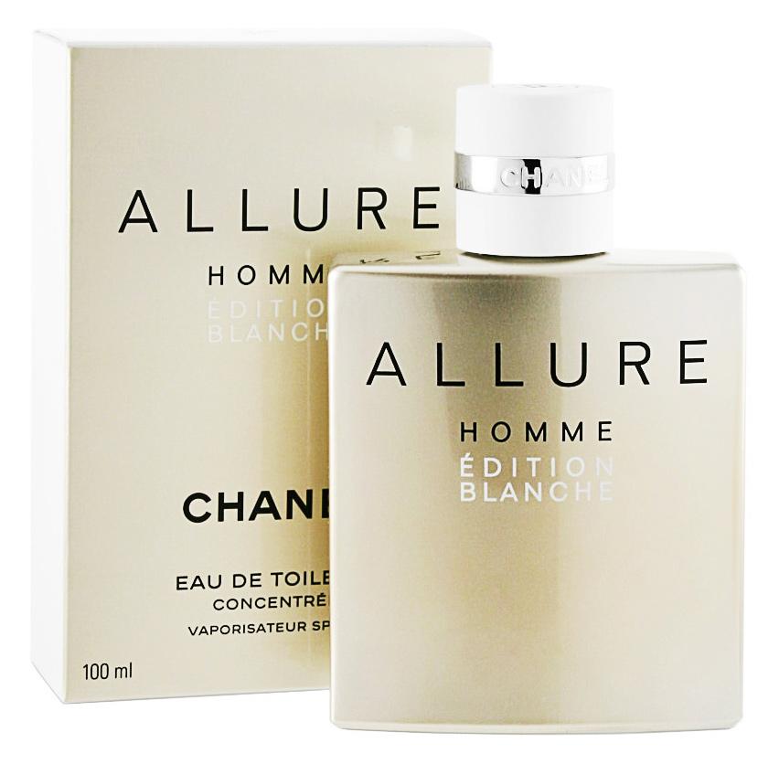 Туалетная вода Chanel Allure Homme Edition Blanche для мужчин 100 мл.